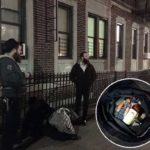Man Apprehended by Shomrim after Breaking into House