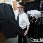 Chasidic Fashion Reaches Down to the Button Holes