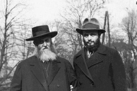 rebbe and frierdiker rebbe
