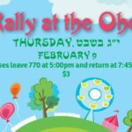 Thursday: Rally at the Ohel