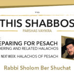 Shabbos at the Besht: Preparing for Pesach