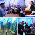 Purim Celebrated Under the Sea in Sumy