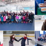 Friends Reconnect at Camp Emunah Ice Skate Reunion