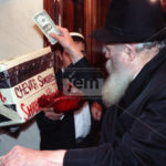 Purim Marks 10th Yahrzeit of R' Shimshon Stock OBM