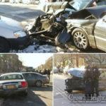 5 Injured in Multi-Vehicle Crash