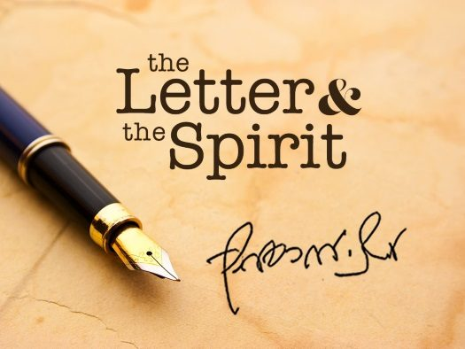 "Weekly Letter: Contrasting the Idea of ""Faith"" and ""Reason"""