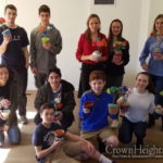 CTeens Bring Flower Bouquets to New Jersey Seniors