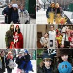 Photos: Purim on the Streets of Crown Heights #3