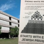 Flyers Accuse Jews of Being the Privileged 1%