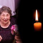 Boruch Dayan Hoemes: Mrs. Hilda Witkes, 98, OBM