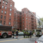Fire Breaks Out in Large Apartment Building