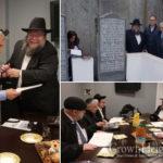 El-Al Leadership Visits the Rebbe's Ohel