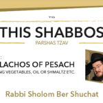 Shabbos at the Besht: Laws of Pesach, Pt. 2