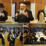 Paris Anash Gather for Kinus Torah