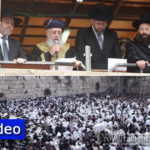 Tens of Thousands at the Kosel for Birchas Kohanim