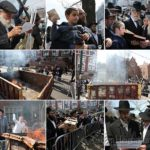 Photos: Burning the Chometz in Crown Heights