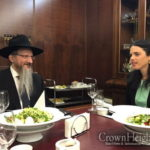 Minister Shaked Visits Chabad Institutions in Moscow