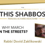 Shabbos at the Besht: Why March in the Streets?