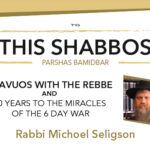 Shabbos at the Besht: Shavuos with the Rebbe