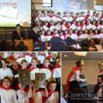 Siddur Party Held at Lubavitcher Yeshiva