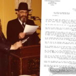 Unusual Letter from the Rebbe Resurfaces