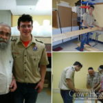 Boy Scout Builds a Mikvah