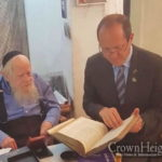 Rabbi Steinsaltz Receives Jerusalem Award