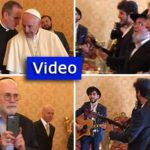 Rabbis and Activists Visit the Pope