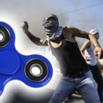 Fidget Spinner Invented to Halt Rock Throwing