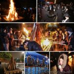 Photos: 100's Celebrate Lag BaOmer in the Rain