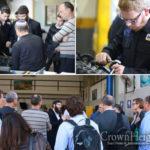 OECD Delegation Visits Kfar Chabad Yeshiva