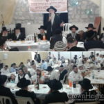 Gathering Recites Tehillim at Dovid Hamelech's Kever