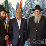 Picture of the Day: Portugal Shliach and Mayor Meet