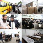 Photos: Preparation for Shabbos at the Ohel