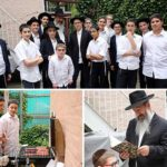 Rabbi Borenstein's Class' Year End BBQ