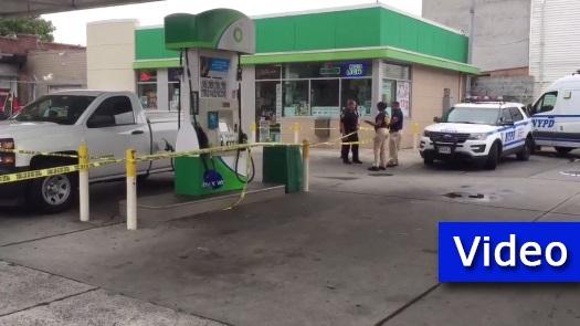 Man Shot Dead at Crown Heights BP Gas Station • CrownHeights