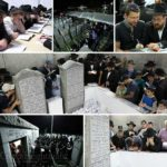 Photos: Thousands Begin Streaming to the Ohel