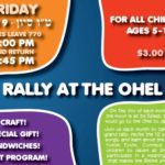 Friday: Rally at the Ohel