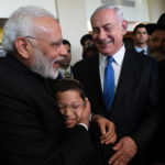 In Historic Visit, Indian PM Meets Moshe Holtzberg