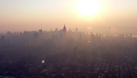 Air Quality Health Advisory Issued for New York City