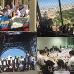 Dnieper Yeshiva Students Tour France