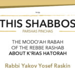 Shabbos at the Besht: The Rebbe Rashab's Directive