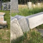 60 Headstones Toppled; Police Say No Hate Crime