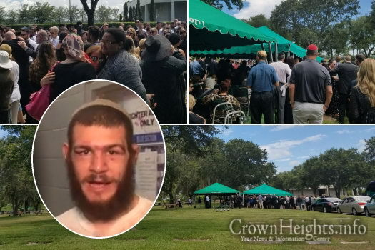 Large Crowd Present As Slain Fighter Laid To Rest