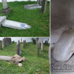 Jewish Cemetery Desecrated in Ukraine