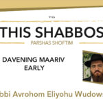 Shabbos at the Besht: Davening Maariv Early