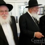 Picture of the Day: Chief Rabbi at the Ohel