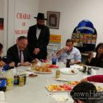 Legal Defender of Israel Speaks at Melbourne Chabad