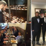 Shomron Regional Council Head Visits the Ohel