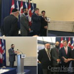 Toronto Mayor Tries His Hand at Blowing Shofar